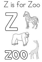 Letter Z is for Zoo