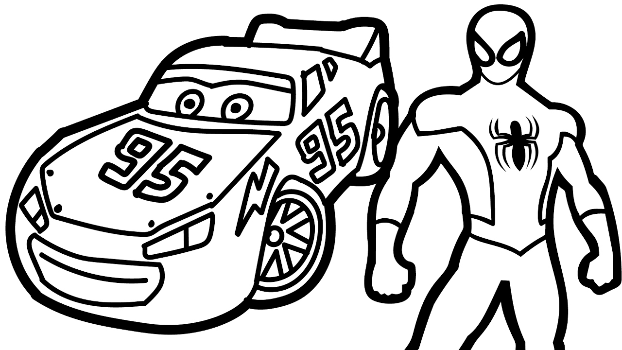 Cute Lightning Mcqueen Coloring Page - Free Cars Coloring Pages ... | 720x1280