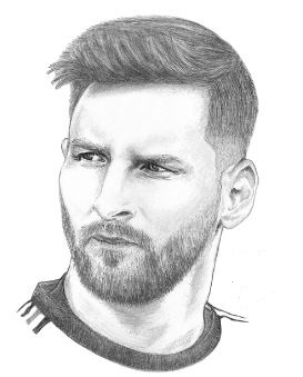 Lionel Messi-image 13 Coloring Page