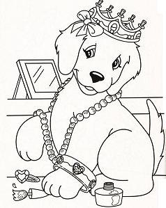 Lisa Frank Dog