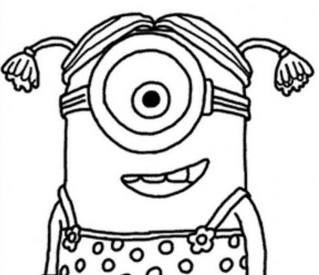 Little Girl The Minion