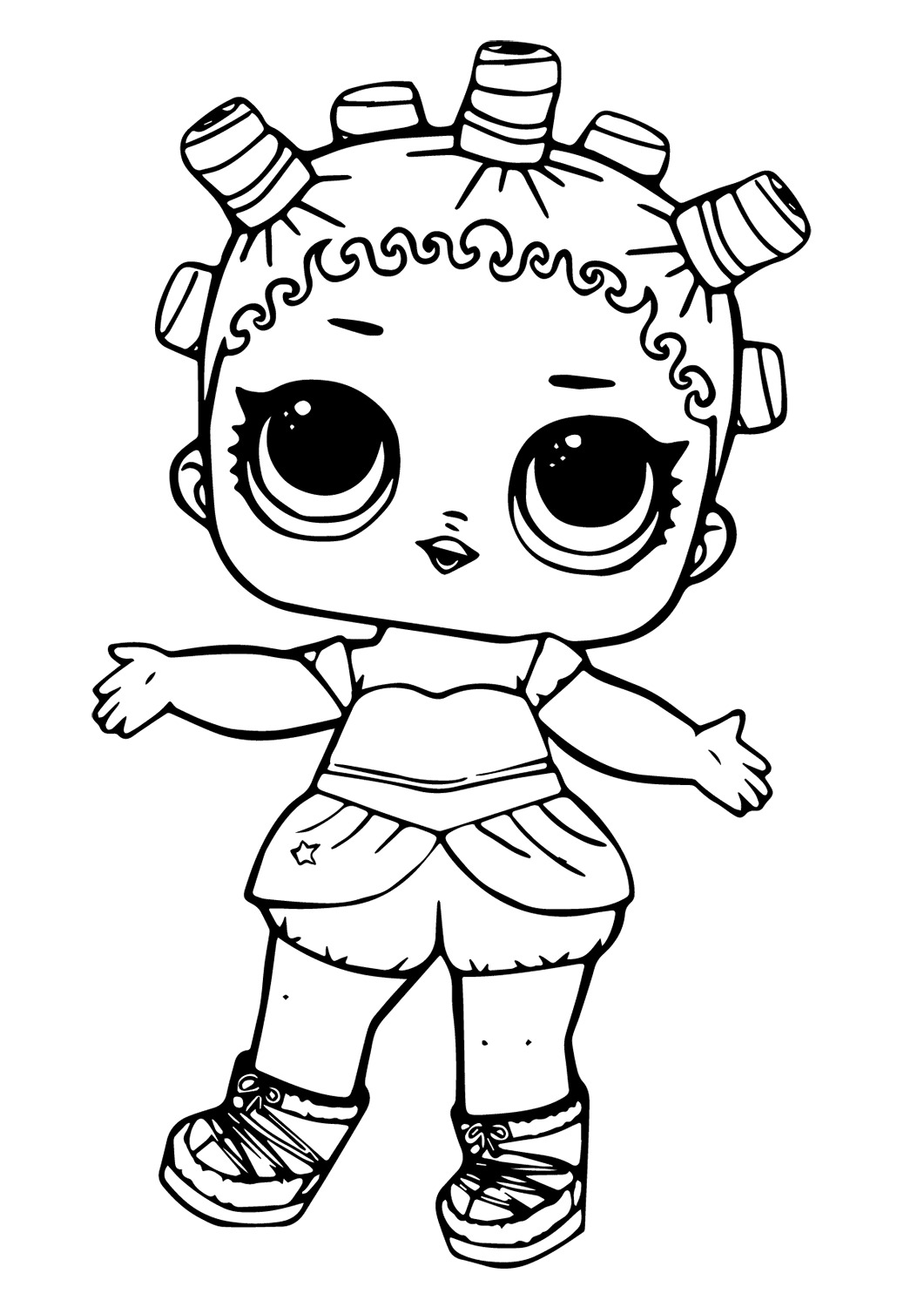 Lol Suprise Doll Cosmic Queen Coloring Pages