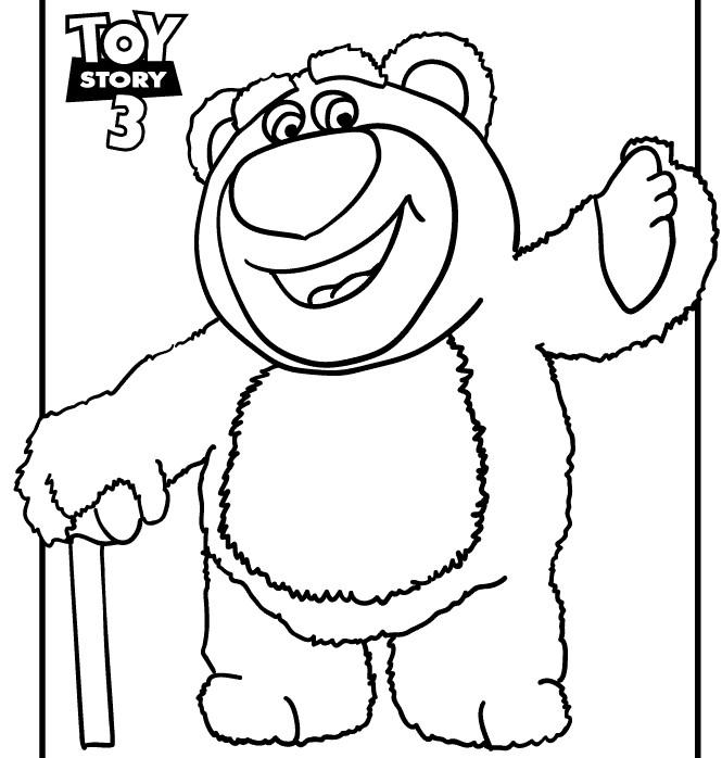 Lots-o-Huggin Bear Coloring Page