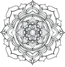 Lotus Flower Mandala 1