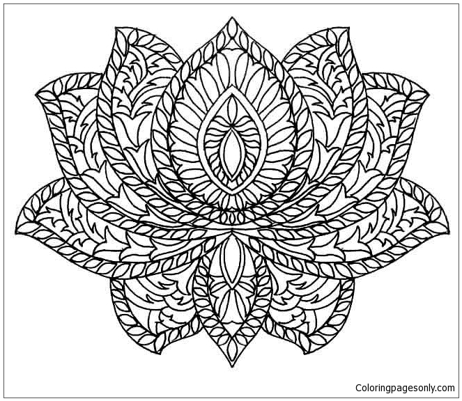 free coloring pages of mandalas - photo#40