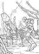 Lovely Star Wars Coloring Page