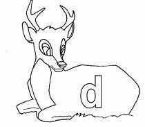 Lower Case Letter d