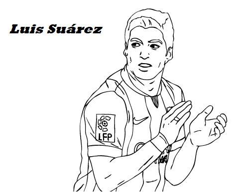 Luis Suárez-image 3 Coloring Page