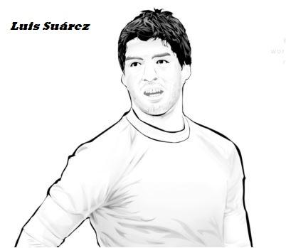 Luis Suárez-image 4 Coloring Page