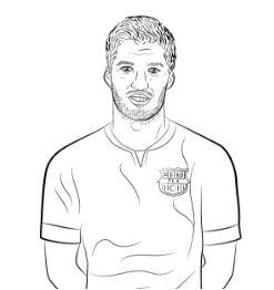 Luis Suárez-image 9 Coloring Page