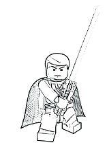 Luke Skywalker Coloring Page
