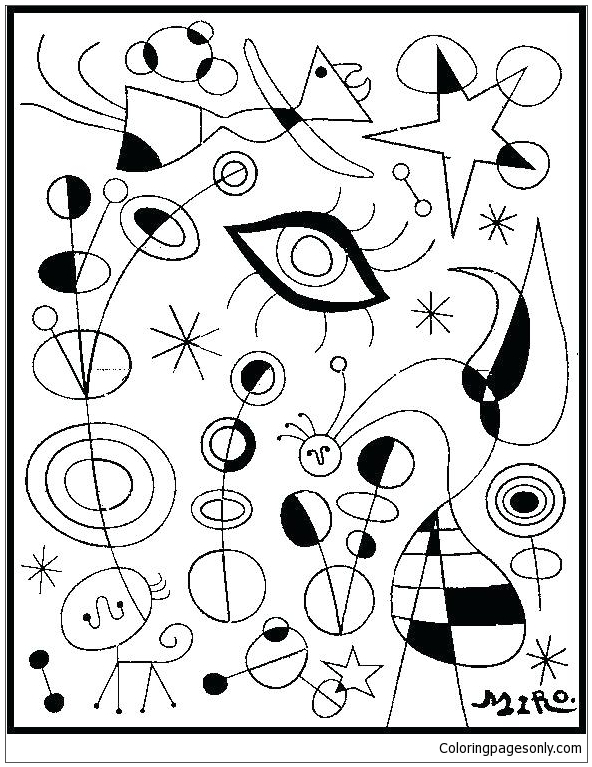 Luxury Famous Paintings Coloring Page Free Coloring Pages Online Coloring Pages Of Paintings