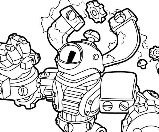 Magna Charge Coloring Page