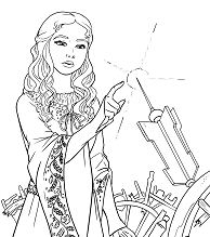Descendants 2 Uma Coloring Page