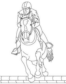 Horse Christmas Coloring Page - Free Coloring Pages Online