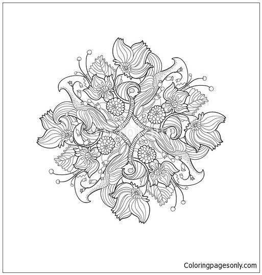 Mandala 12 Coloring Page