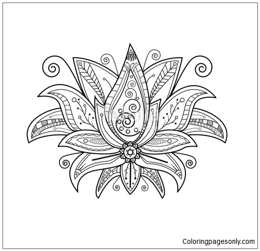 Turtle Mandala Coloring Page Free Coloring Pages Online
