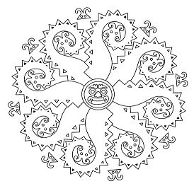 Mandala Of Monsters