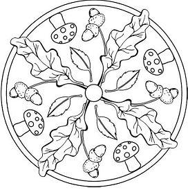 Mandala Tardor