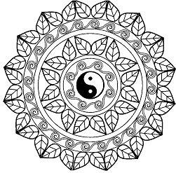 Mandala Yin Yang Mandalas