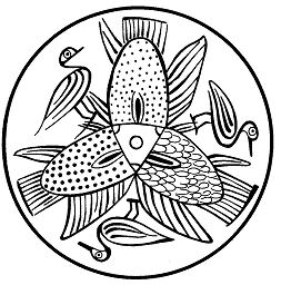 Mandalas Para Pintar: Animales del Nilo