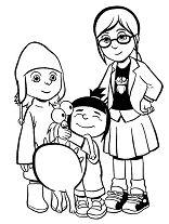 Margo, Agnes, Edith and Kyle