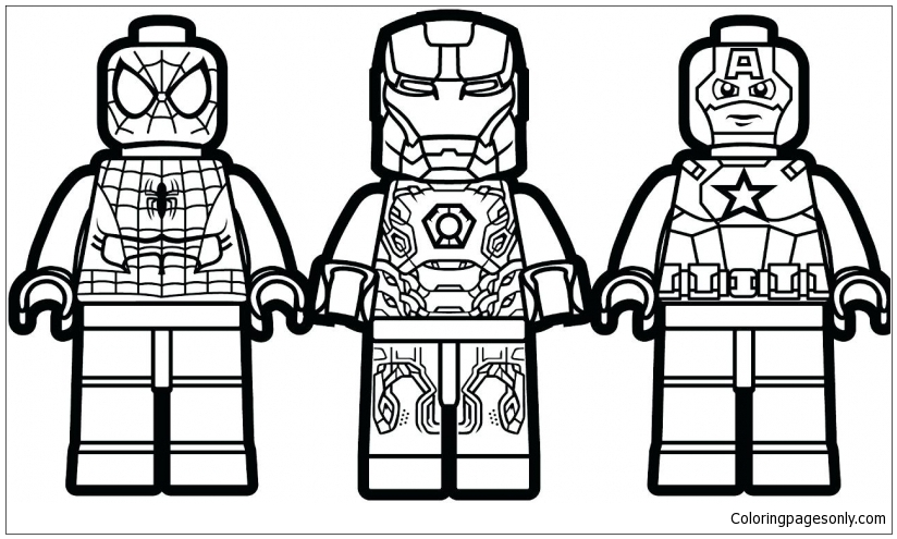 Marvel Super Hero Squad Coloring Pages Toys And Dolls Coloring Pages Free Printable Coloring Pages Online