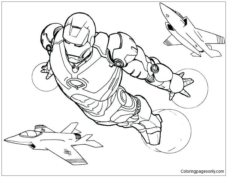 Marvel Superhero 1 Coloring Pages - Superhero Coloring Pages - Free  Printable Coloring Pages Online