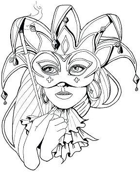 Masks Of Carnival Masks