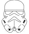 Masks Star Wars Coloring Page