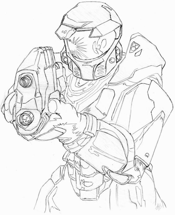 Master Chief of Halo