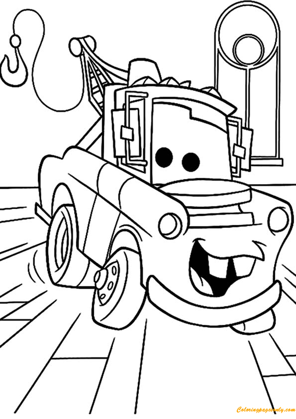 Cars 1 coloring pages