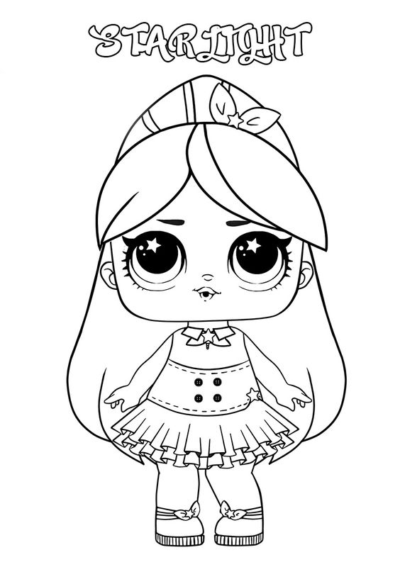 Meek Lol Surprise Doll Coloring Pages - Lol Surprise Doll Coloring Pages -  Coloring Pages For Kids And Adults