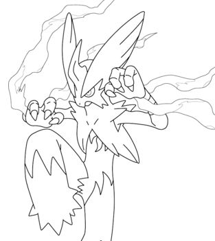 Mega Blaziken From Pokemon