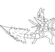 Sceptile Pokemon Coloring Page