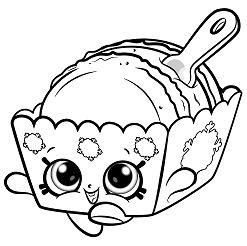 Melty Macaron Cute Shopkins