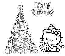Merry Christmas Hello Kitty
