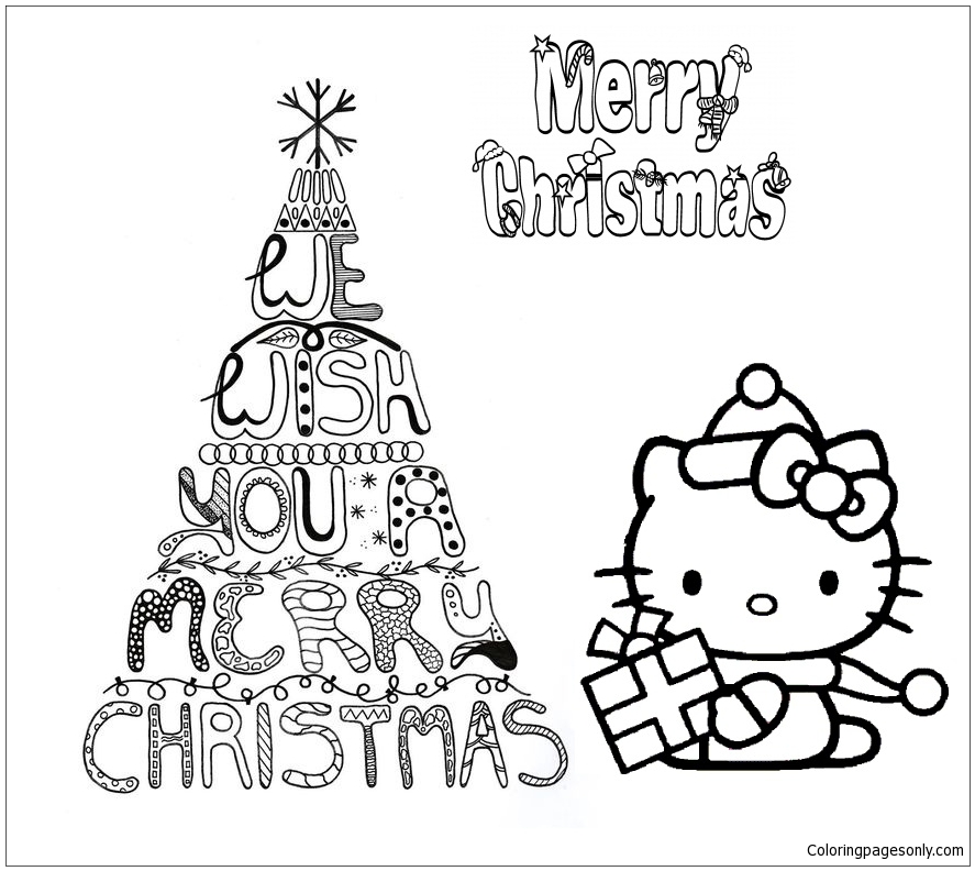 750 Free Coloring Pages Merry Christmas , Free HD Download