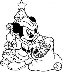 Mickey Mouse Acts As A Santa And Prepare Many Christmas Gifts