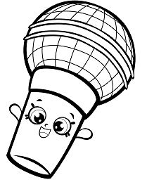 Microphone Shopkin