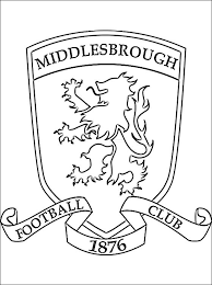 Middlesbrough F.C. Coloring Page