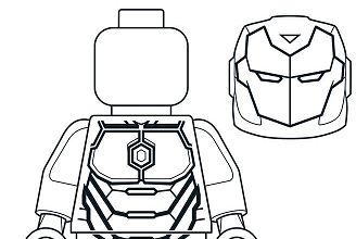 Mighty Micros Iron Man Coloring Page