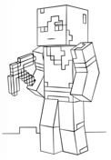 Minecraft Alex from Minecraft