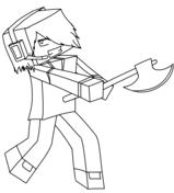 Minecraft Deadlox from Minecraft