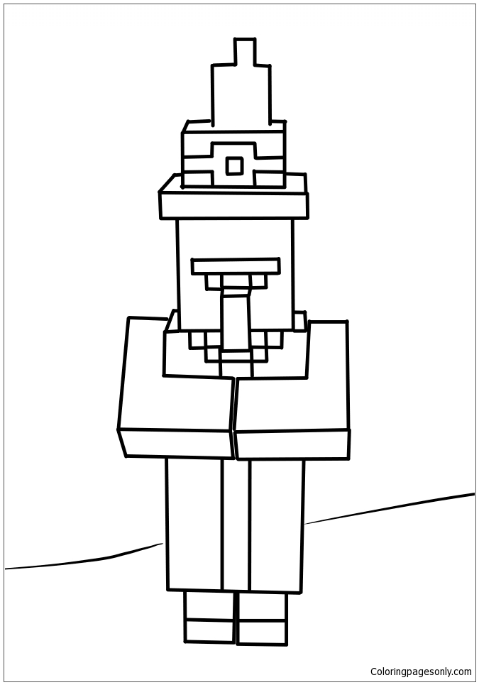 Print minecraft dantdm coloring pages | Minecraft coloring pages ... | 965x675