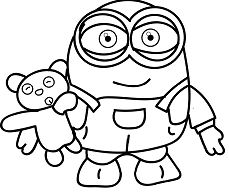 Despicable Me & Minions Coloring Pages | Playing Learning | 194x229