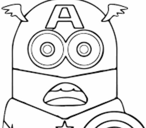 Minion Dave Coloring Page