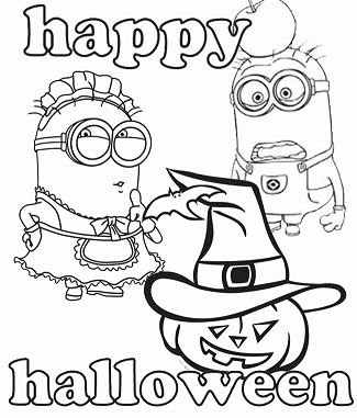 Minion Happy Halloween