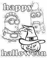 Minions And Halloween