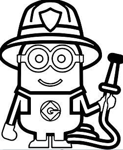 Minions Fireman